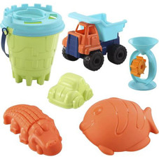 Beach Toy Set with Mesh Bag - 28 Piece