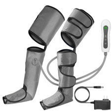 Leg Air Compression Massager with 4 Modes and 3 Intensities