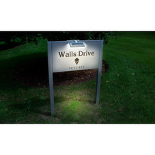 Solar Dual Sided LED Sign or Post Light - 1, 2 or 4 Pack