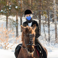 Unisex Breathable Windproof Face Mask and Neck Warmer