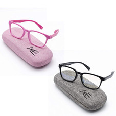 Ava and Ethan Blue Light Glasses for Kids Ages 2-7 - 2 Pack