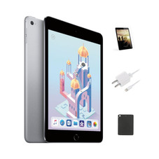 iPad Mini 4 128GB Wifi Tablet with Case and Screen Protector Bundle