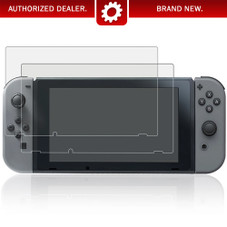 Deco Gear Tempered Glass Screen Protector for Nintendo Switch 2017 (2-Pack)