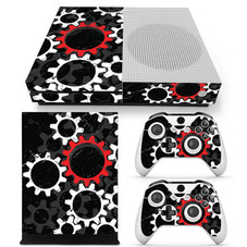 Deco Gear Vinyl Skin Sticker Cover Decal for Microsoft Xbox One S Console and Controllers