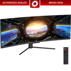 Deco Gear 49 Curved Ultrawide LED 3840x1080 HDR400 32:9 144Hz FreeSync 4ms Gaming Monitor
