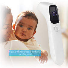 Deco Essentials Contactless Infrared Thermometer, Fast and Accurate Results in 1 Second