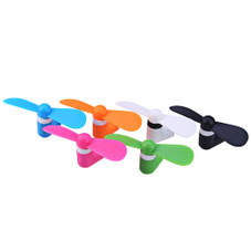 BINFUL Portable Mini Fan for iPhone with Lightning Connector Port (Color May Vary)