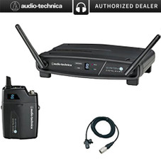 Audio-Technica System 10 Wireless Lavalier Microphone System (ATW-1101/L)