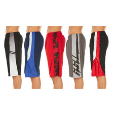 Men's Active Athletic Assorted Performance Shorts - 5 Pack