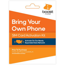 Boost Mobile Expanded Network SIM Card Activation Kit 3-in-1 SIM