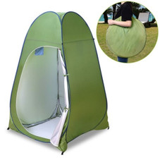 7 Piece Portable Pop Up Privacy Tent with Carry Bag
