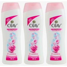 Olay Refreshing Rose and Milky White Body Wash, 200ml - 6 Pack
