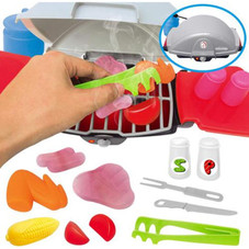 Mini Childrens Barbecue Grill Toy Set