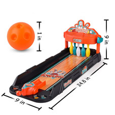 Mini Bowling Tabletop Game Set for Kids