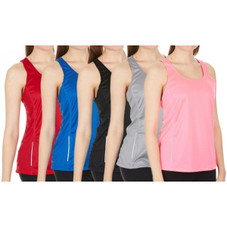 Women's Active Athletic Performance Tanks - 2 Pack
