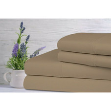 Bamboo 1800 Count Lavender Infused Scented Sheet Set - 4 Piece