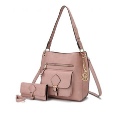 MKF Collection Yves Hobo Bag with Matching Wallet