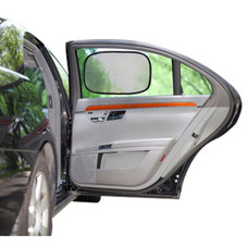 4-Pack Sun Shade-Static Cling Auto Window Shades - Super UV Protection