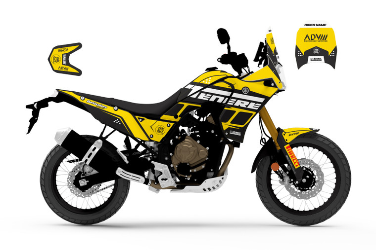 RAID YELLOW Series Tenere 700
