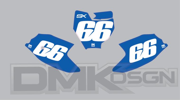 KTM 50 SX Number Boards