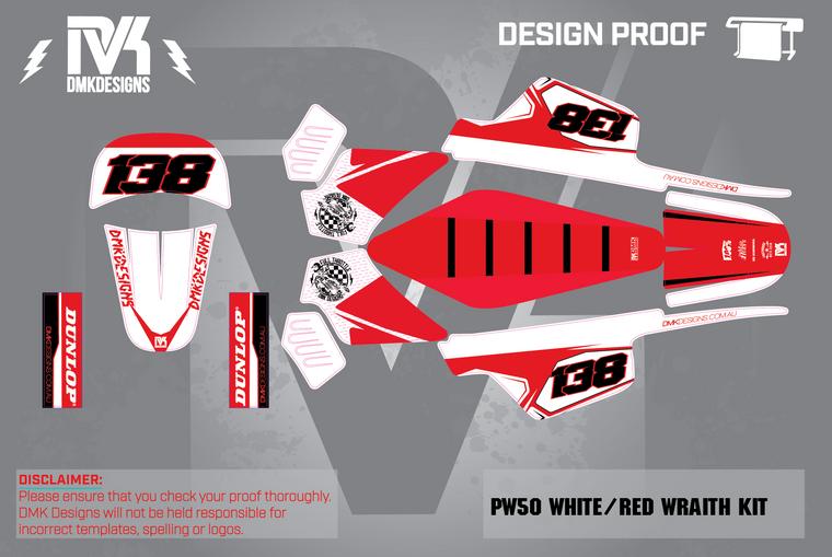 PW50 White/Red Wrath  Kit