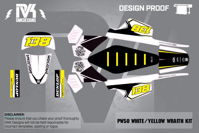 PW50 White/Yellow Wrath  Kit