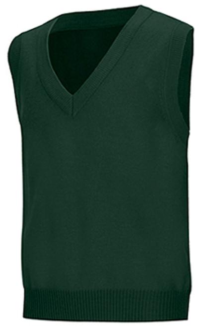 SSM Hunter Green Vest w/ School Logo