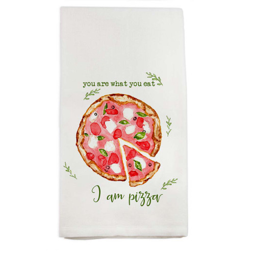 I am Pizza Dishtowel