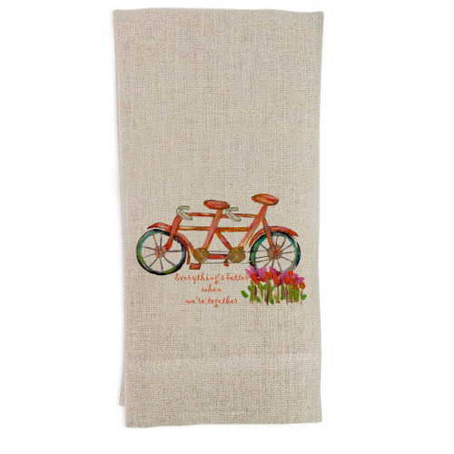 Everything's Better Guest Towel