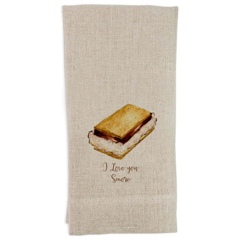 I Love You Smore Guest Towel