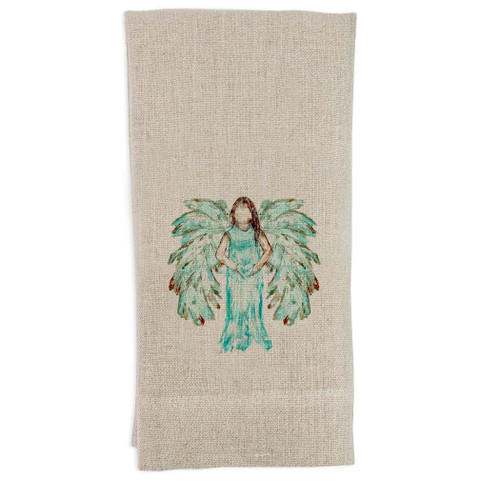 Angel White Guest Towel