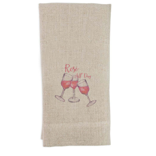 Rose All Day Guest Towel
