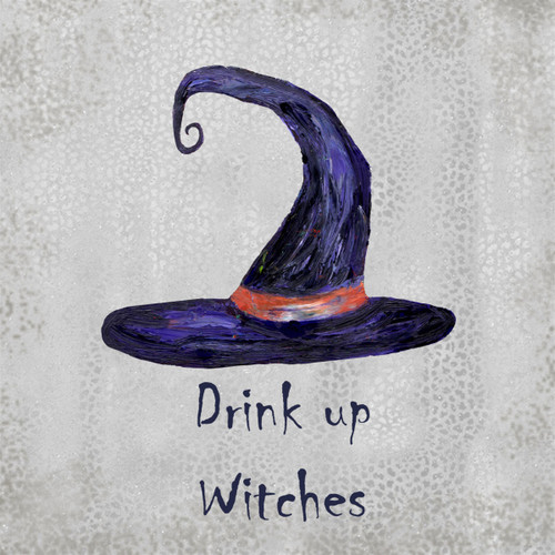 Drink Up Witches Coaster