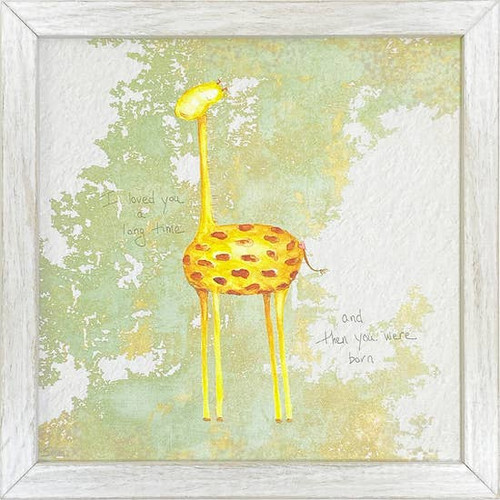 Giraffe Wall Art 10x10