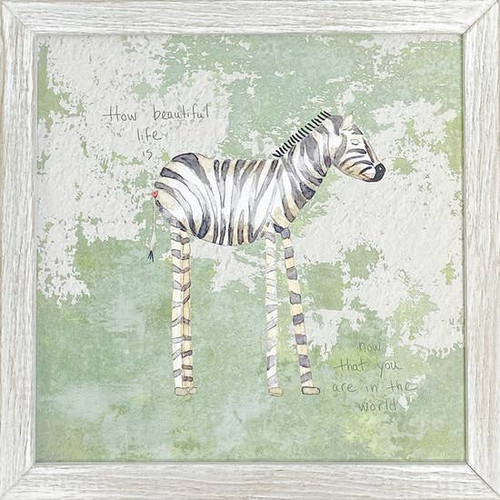 Zebra Wall Art 10x10