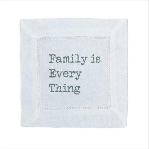 Family Is Everything Cocktail Napkin