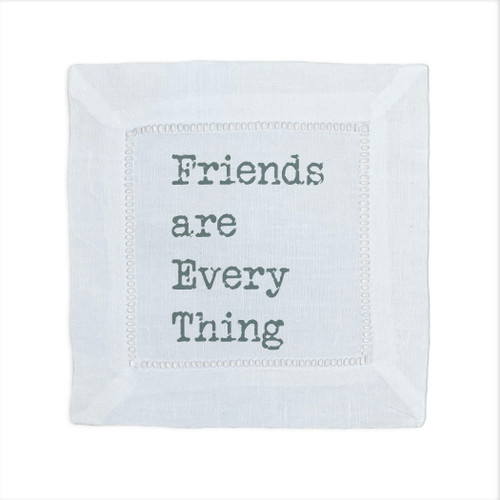 Friends Are Everything Cocktail Napkin