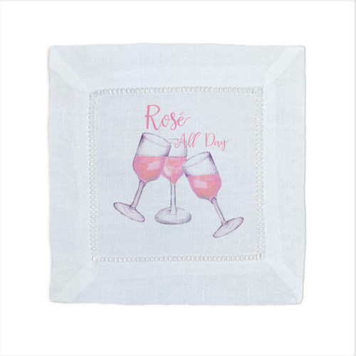 Rose All Day Cocktail Napkin