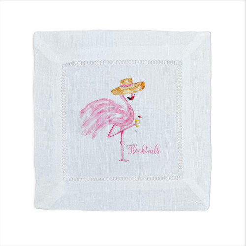 Flamingo Cocktail Napkin