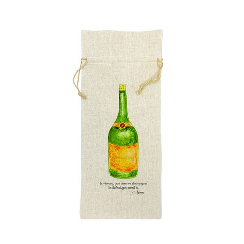 In Victory Champagne Wine Bag