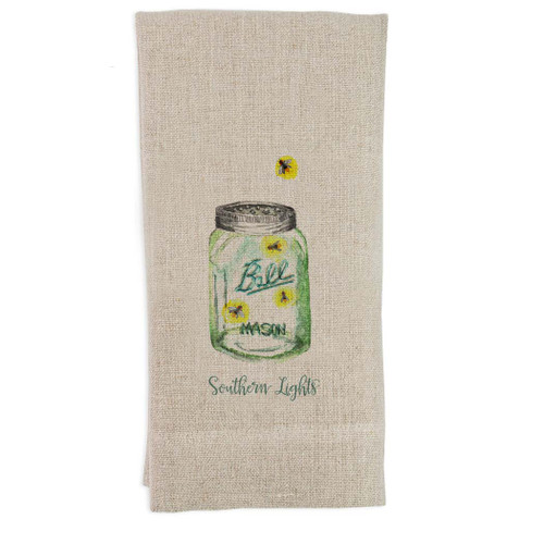 Southern Lights Guest Towel