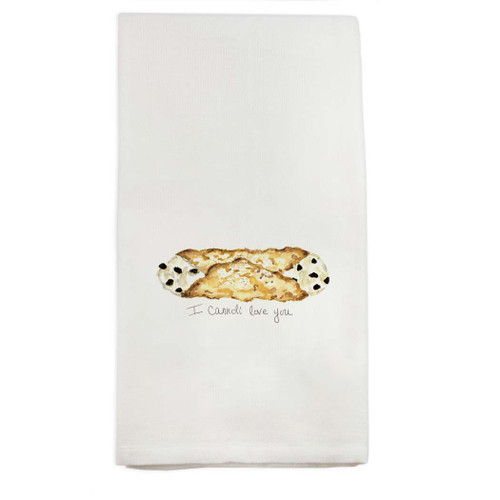 I Cannoli Love You Dishtowel
