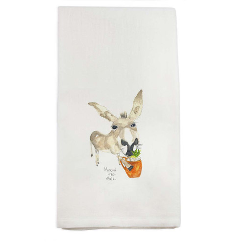 Moscow the Mule Dishtowel