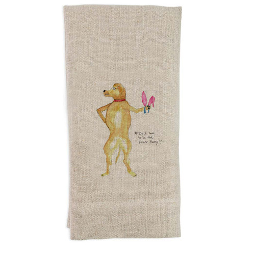 Do I Have To Be the Easter Bunny Guesttowel