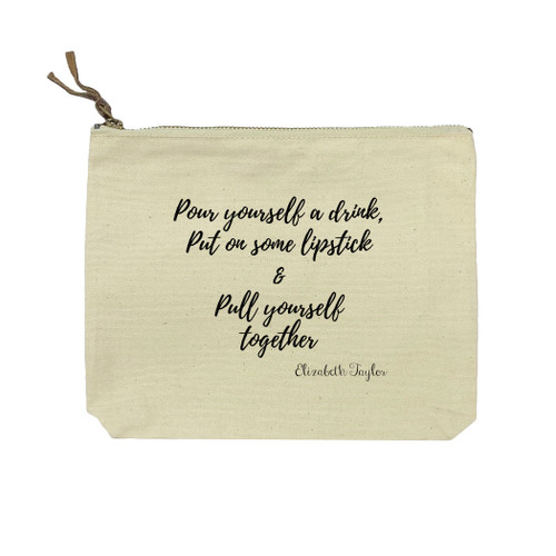 Pour Yourself A Drink Cosmetic Bag