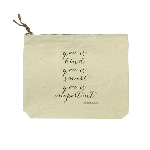 You Is Kind Cosmetic Bag