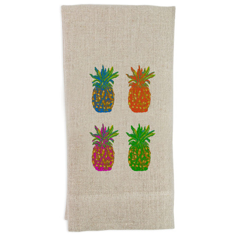 Popping Pineapples Guesttowel