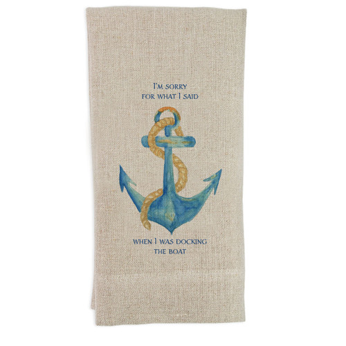 Anchor I'm Sorry Guesttowel