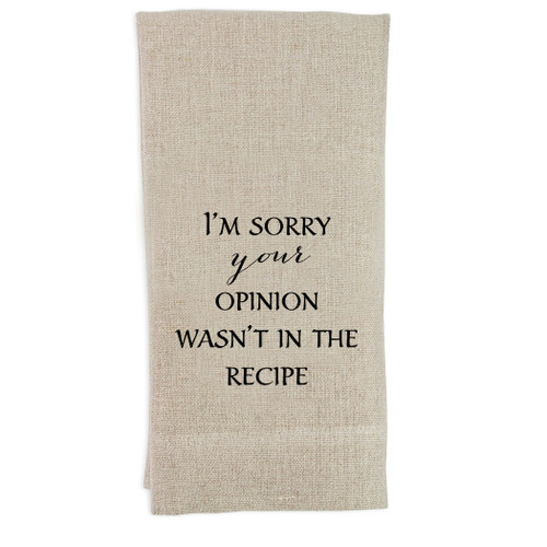 Your Opinion Guesttowel