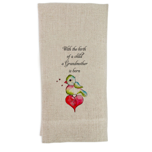 A Grandmother Is Born Guesttowel